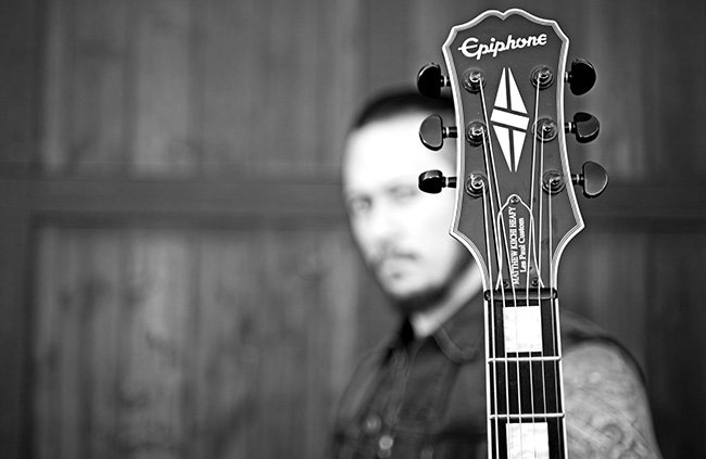 Matt Heafy and Epiphone Les Paul Custom