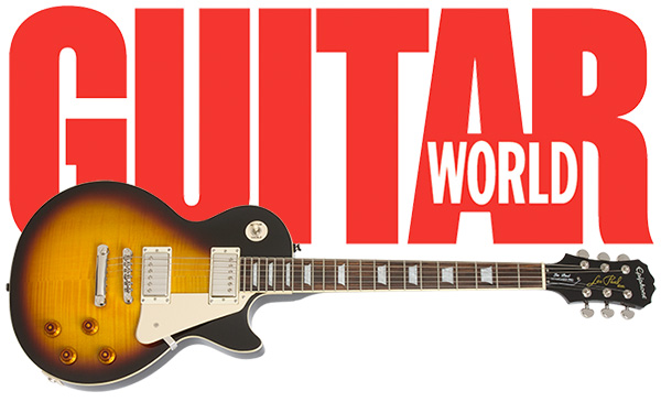 Paul Riario at Guitar World Reviews The Epiphone Les Paul Standard PlusTop PRO