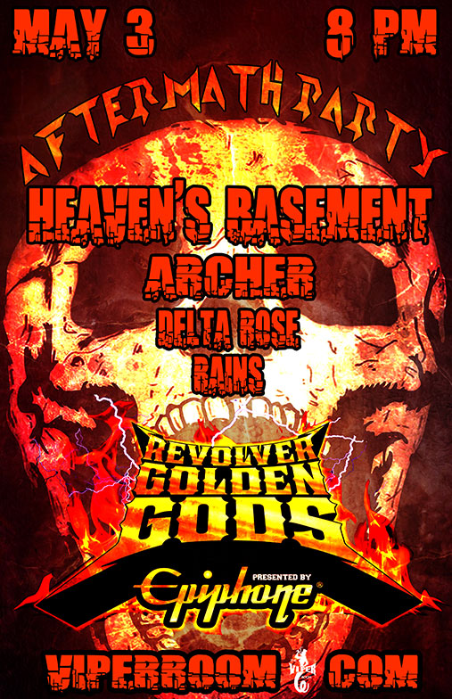 Don't Miss The Golden Gods Awards Show or the Golden Gods Aftermath Party