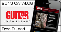 Epiphone's 140th Anniversary Catalog Part of Guitar World's iNewsstand App