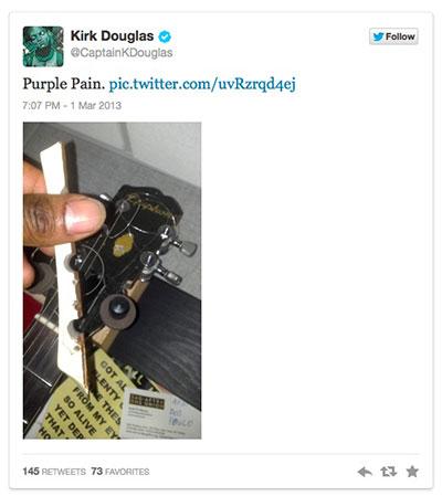 Kirk Douglas: The Epiphone Interview
