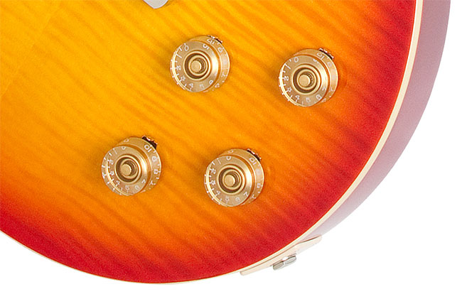 The Epiphone Les Paul Tribute Plus
