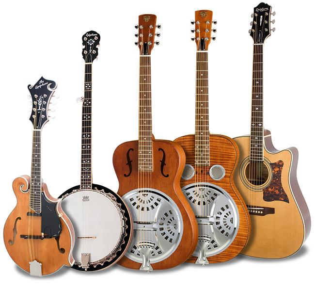 Epiphone's Bluegrass Jamboree