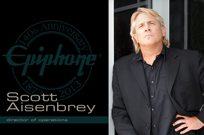Scott Aisenbrey: The Epiphone Interview