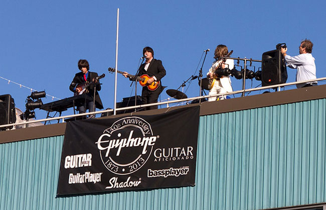 Epiphone Shouts from the Rooftop