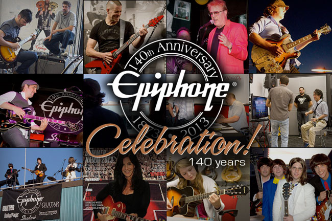 Epiphone's 140th Birthday Bash