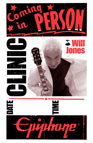Will Jones: the Epiphone Interview