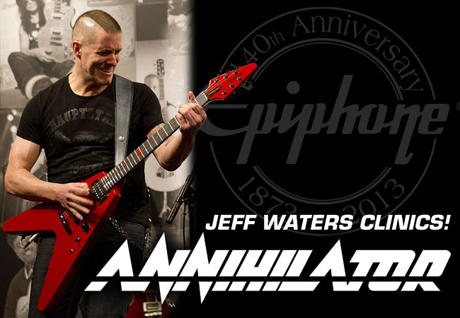 Jeff Waters of Annihilator Confirms Clinics In Germany