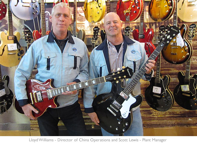Lloyd Williams and Scott Lewis: The Epiphone Interview