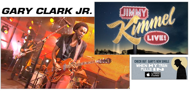 Gary Clark Jr. on Jimmy Kimmel Live!
