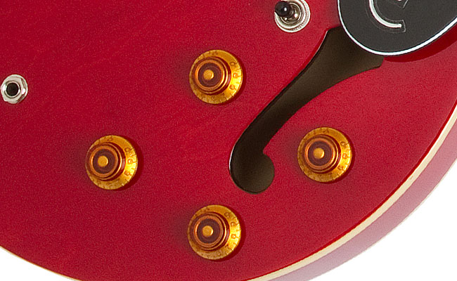 The Epiphone Dot and Sheraton-II