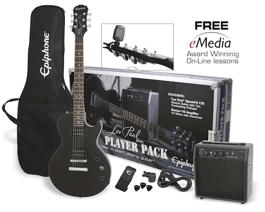 Les Paul Player Pack