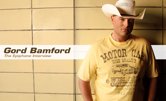Gord Bamford: The Epiphone Interview