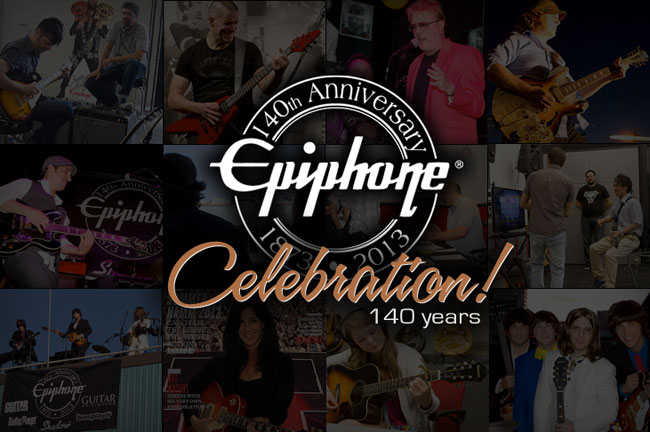 Epiphone at 140