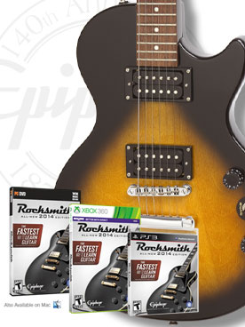 Win An Epiphone Special II and Rocksmith!