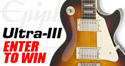 Epiphone December Giveaway - Win an Epiphone Ultra III!