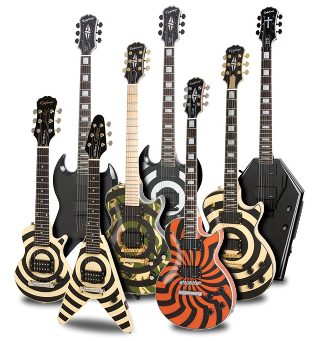 Zakk Wylde Rocks With His Epiphone Signature Model on EMGtv