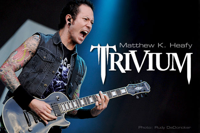 Matthew K. Heafy: the Epiphone Interview