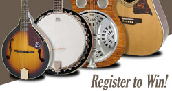 Win a Bluegrass Band Package!