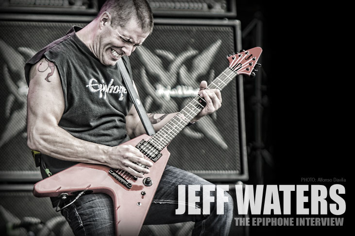 Jeff Waters: The Epiphone Interview