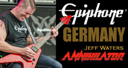 Jeff Waters of Annihilator To Hold Epiphone Clinics in Germany