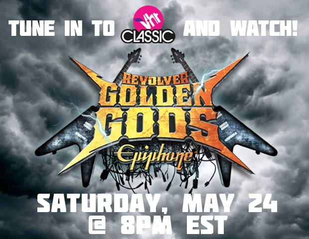 Watch The Golden Gods Awards Show This Saturday on VH1 Classic