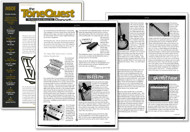 Tone Quest Looks at the Epiphone ES-335 PRO