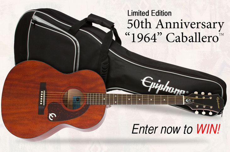 Win a New Ltd. Ed. Inspired by 1964 Caballero with Premium Gigbag!