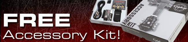 Epiphone Free Accessory Kit