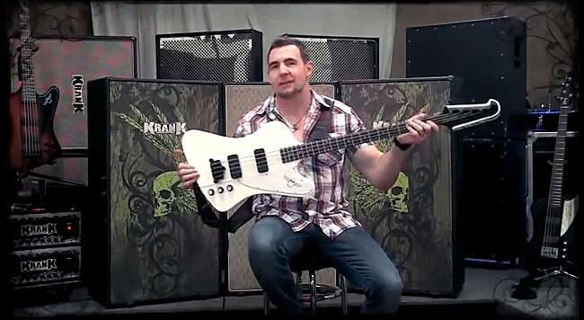 Chris Catero of Razer Demos the Epiphone Thunderbird Classic PRO