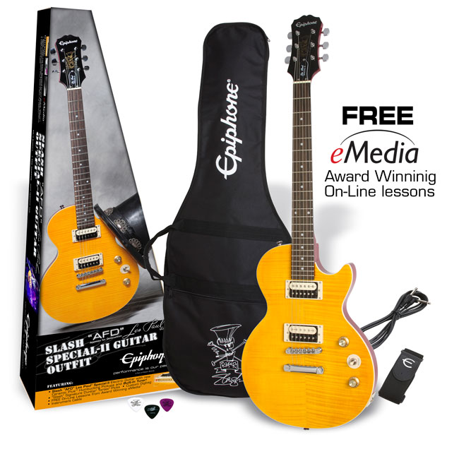 Slash AFD Les Paul Performance Pack