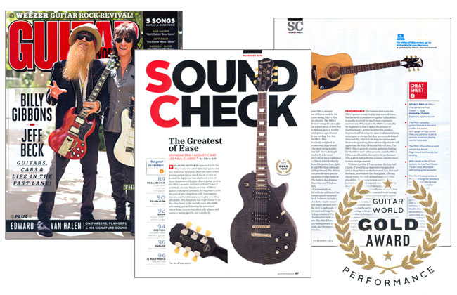 Les Paul Classic-T and PRO-1 Plus Get High Marks From Guitar World