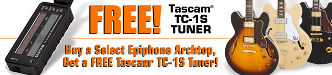 It's Archtop Month! Get a Free Tuner