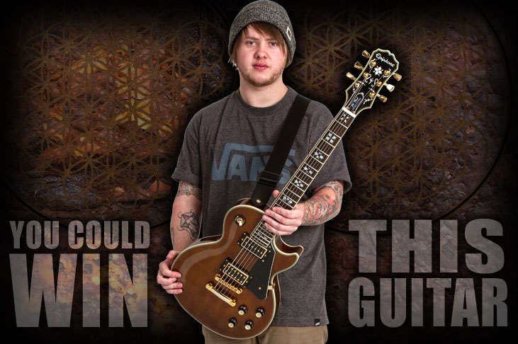 Win a New Lee Malia Signature Les Paul Custom!