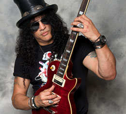 Slash On Fire