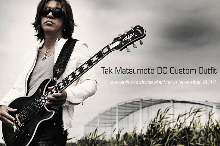 Ltd. Ed. 2014 Tak Matsumoto DC Custom Outfit