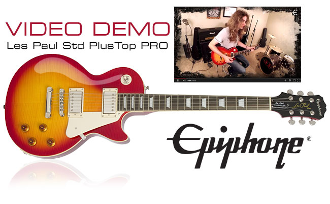 Jordan Ziff of Razer Demonstrates the Les Paul Standard PlusTop PRO