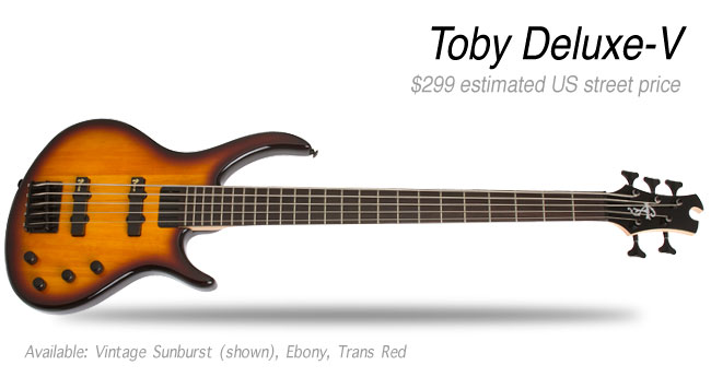 Epiphone Toby Deluxe V