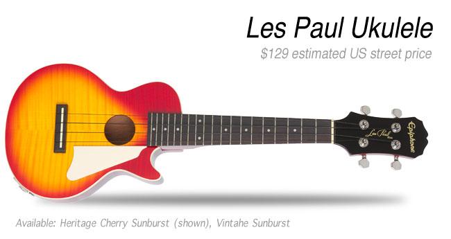 Epiphone Les Paul Ukulele Outfit