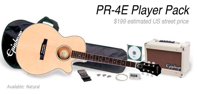Epiphone PR-4E Acoustic/Electric Pack