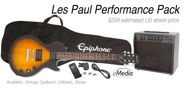 Epiphone Les Paul Performance Pack