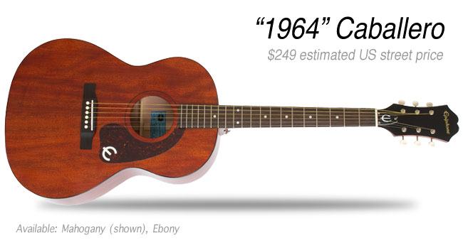 Epiphone 1964 Caballero