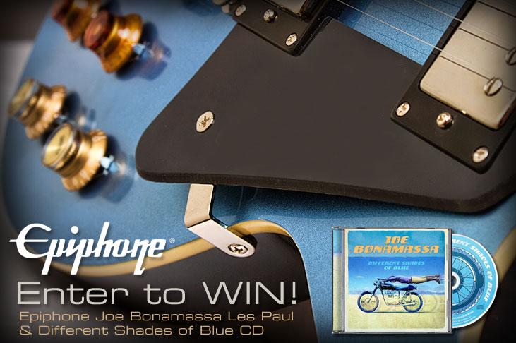 Enter to Win a Joe Bonamassa Les Paul Custom in Pelham Blue!