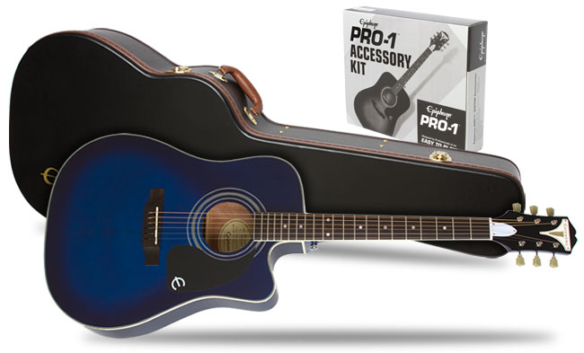 Win A New Epiphone Pro 1 Ultra Acoustic With Case And