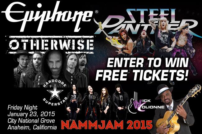 2015 NAMMJAM: Enter To Win Free Tickets!