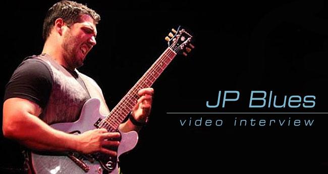 JP Blues Visits Epiphone in Nashville