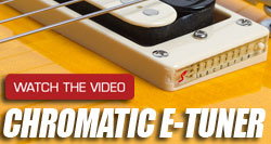 Epiphone Innovations: E-Tuner