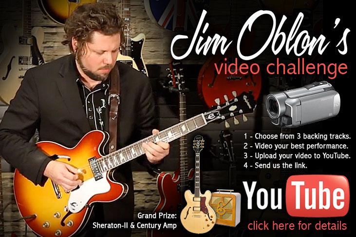 Take the Jim Oblon Video Challenge!