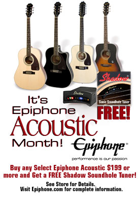 It's Acoustic Month!