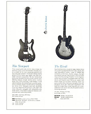 Discover Epiphone Basses